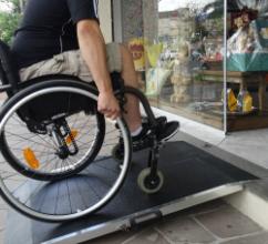 produtos para acessibilidade rampa
