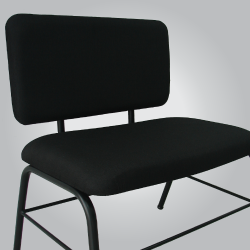 cadeira para obesos sem apoio de braços